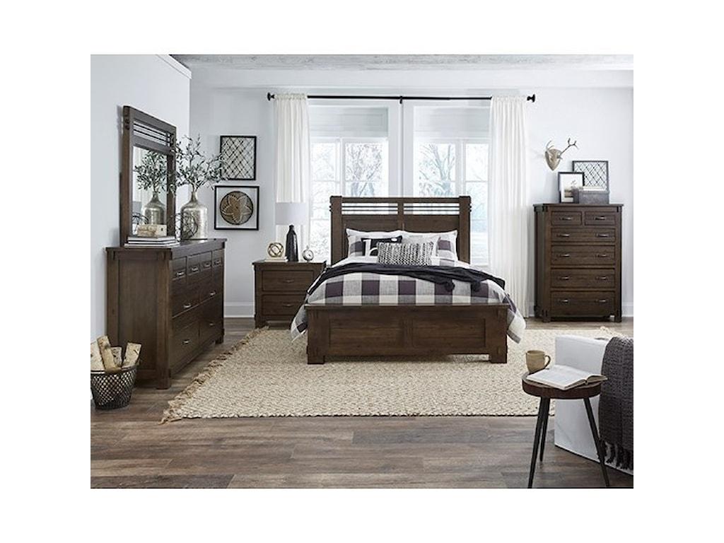 Progressive Furniture ThackeryKing Panel Bed