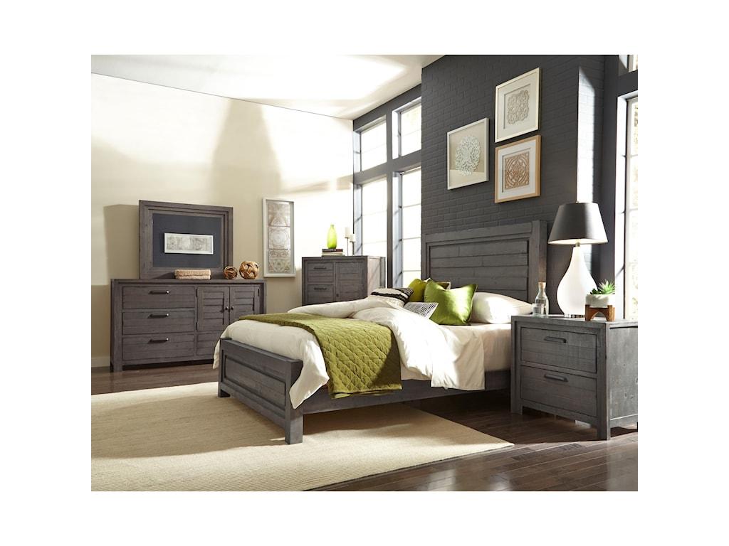 Progressive Furniture TheoryQueen Bedroom Group