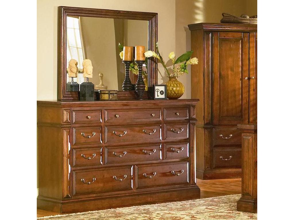 Progressive Furniture TorreonDresser & Mirror