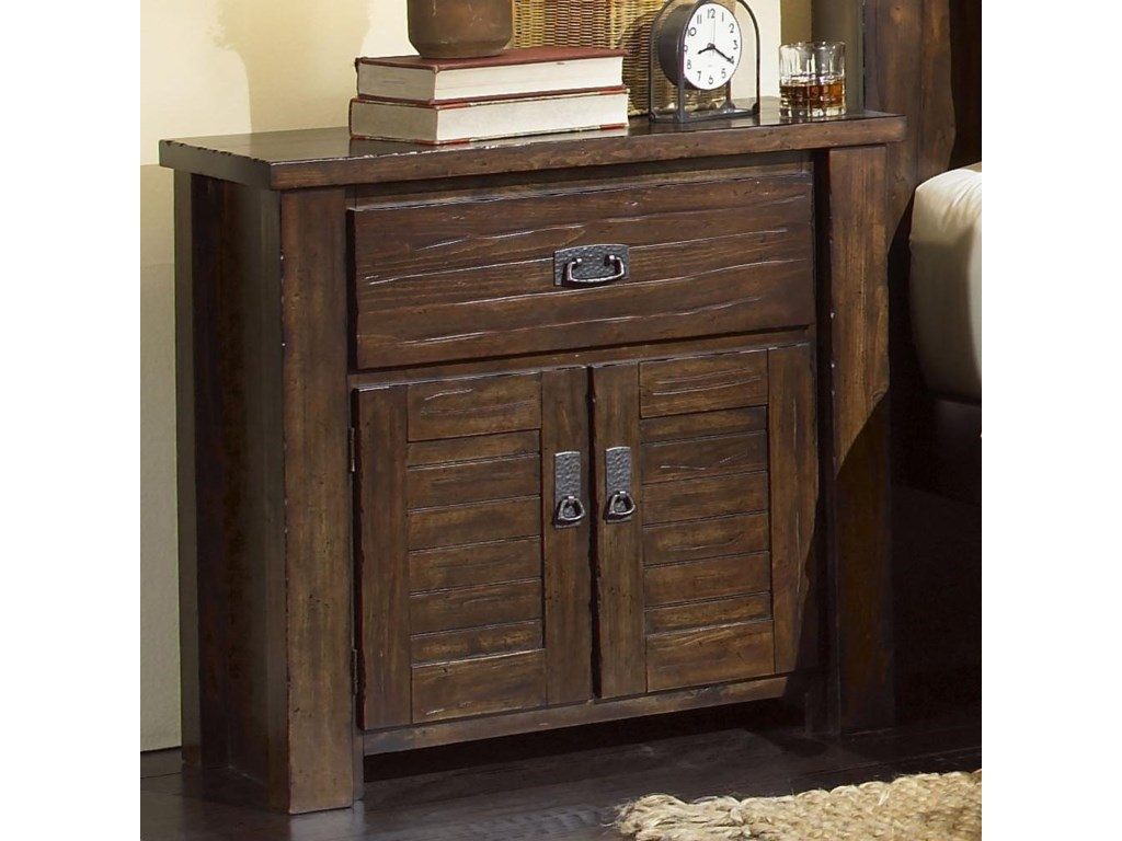 Progressive Furniture TrestlewoodNightstand