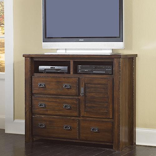 Progressive Furniture Trestlewood Media Chest Lindy 39 S Furniture Company Media Chests