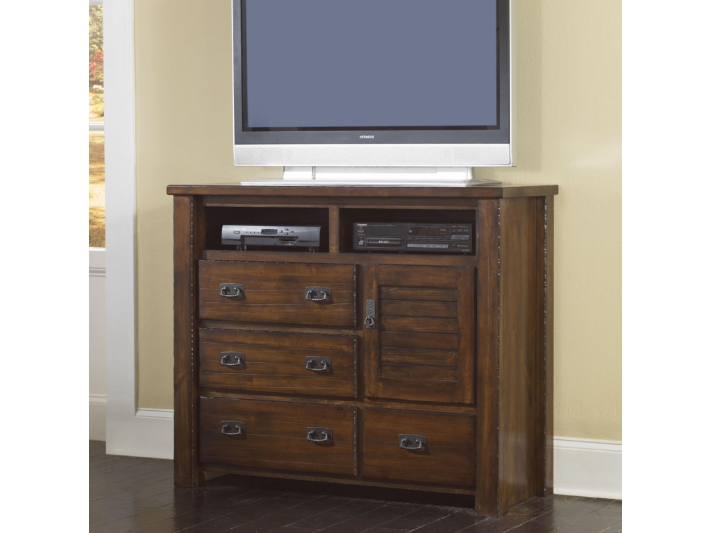Progressive Furniture TrestlewoodMedia Chest