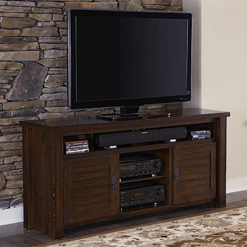 Progressive Furniture Trestlewood Rustic Pine 64