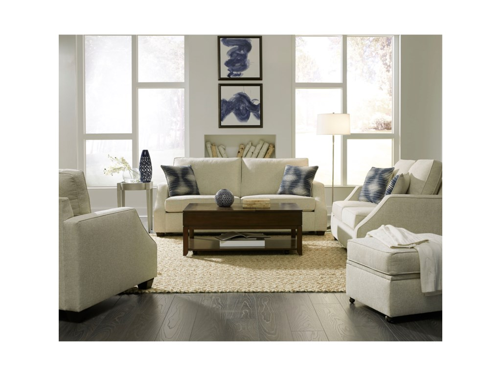 Progressive Furniture HadleyStationary Living Room Group