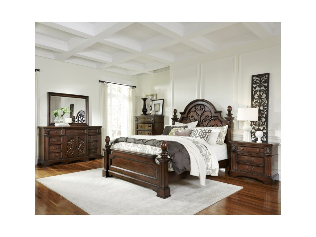 Progressive Furniture Villa RomanaQueen Bedroom Group