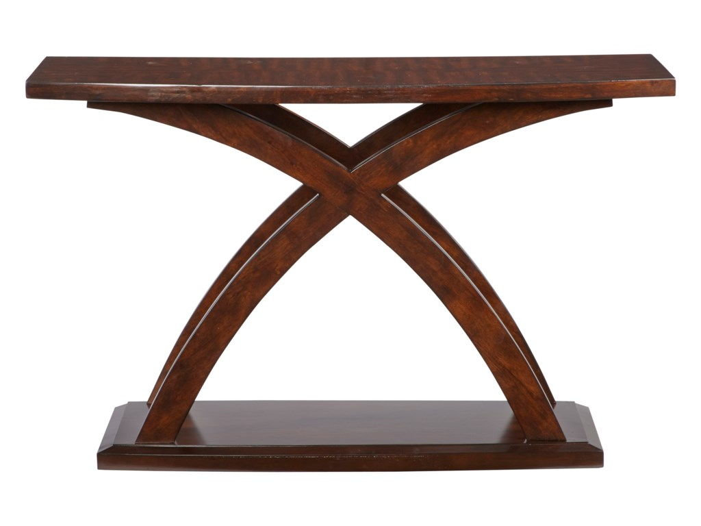 West Wind Contemporary Sofa Table with Curved Legs by Progressive Furniture  at Lindy\'s Furniture Company