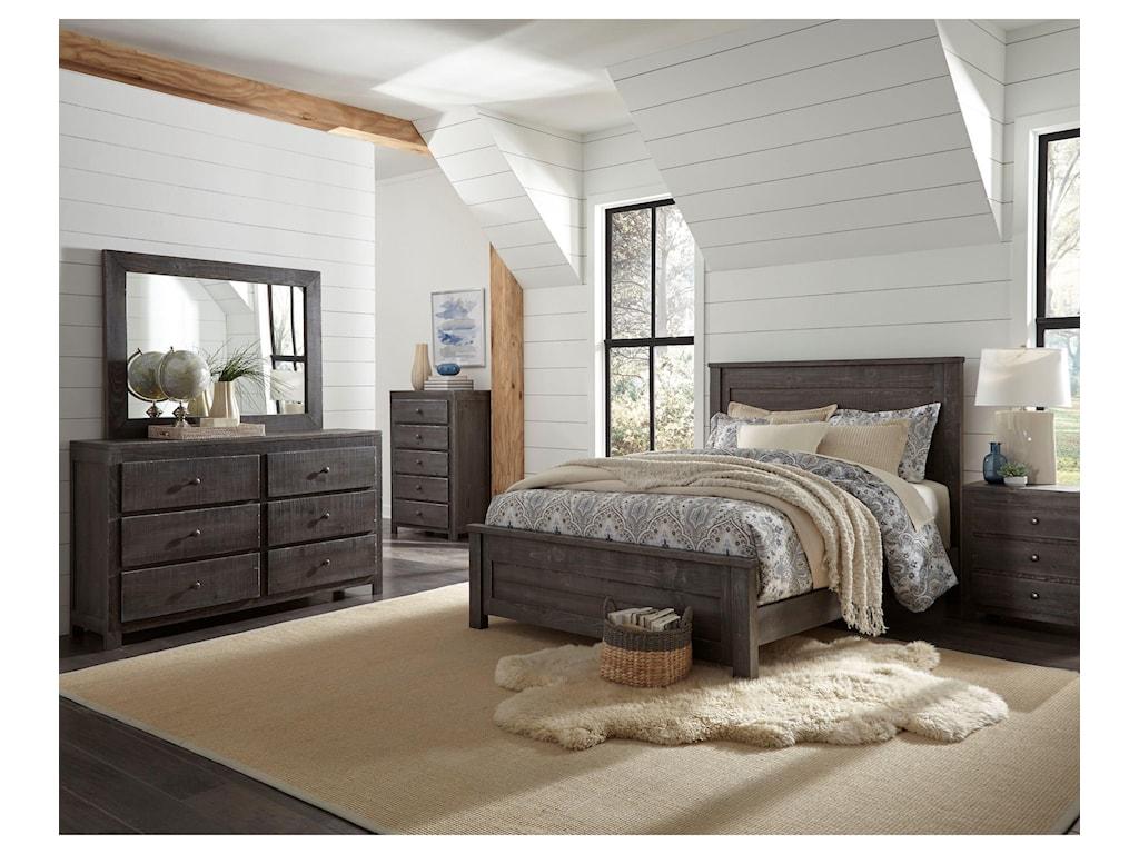 Progressive Furniture Wheaton3 Piece Full Bedroom Group