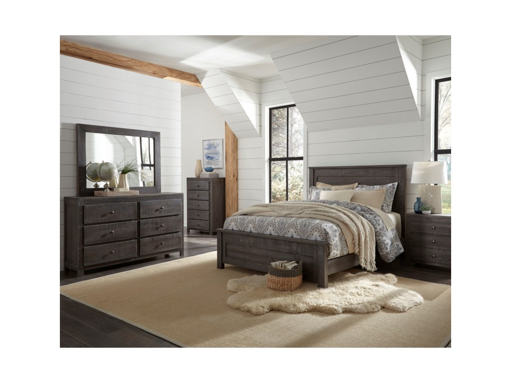 Progressive Furniture WheatonFull Bed Room Group