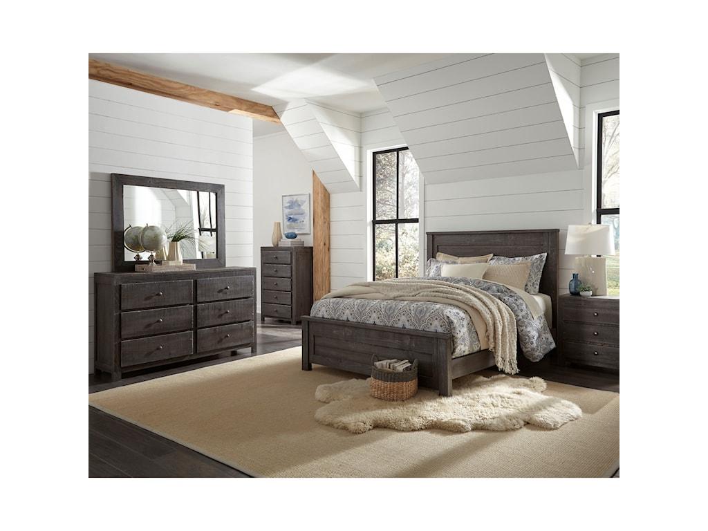 Progressive Furniture WheatonDrawer Dresser & Mirror Set