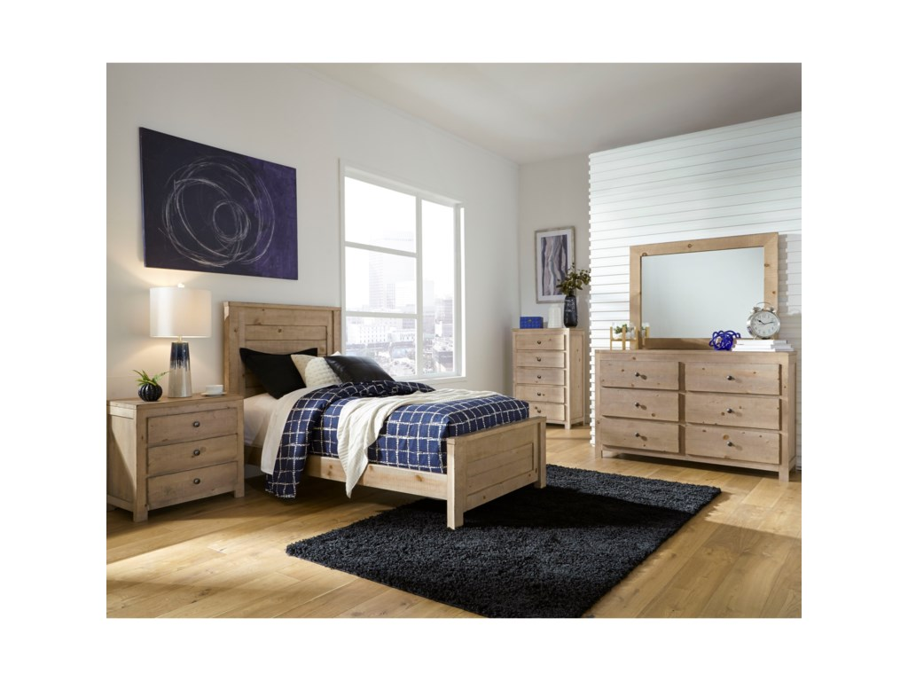 Progressive Furniture WheatonTwin Bed Room Group