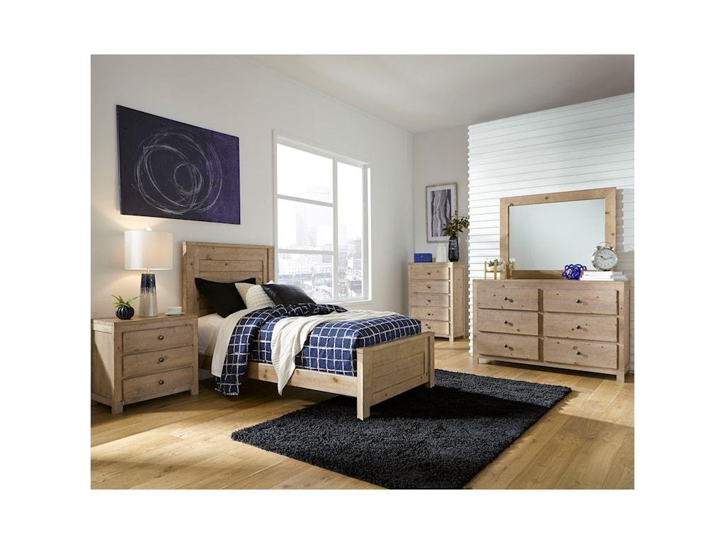 Progressive Furniture WheatonFull Panel Bed