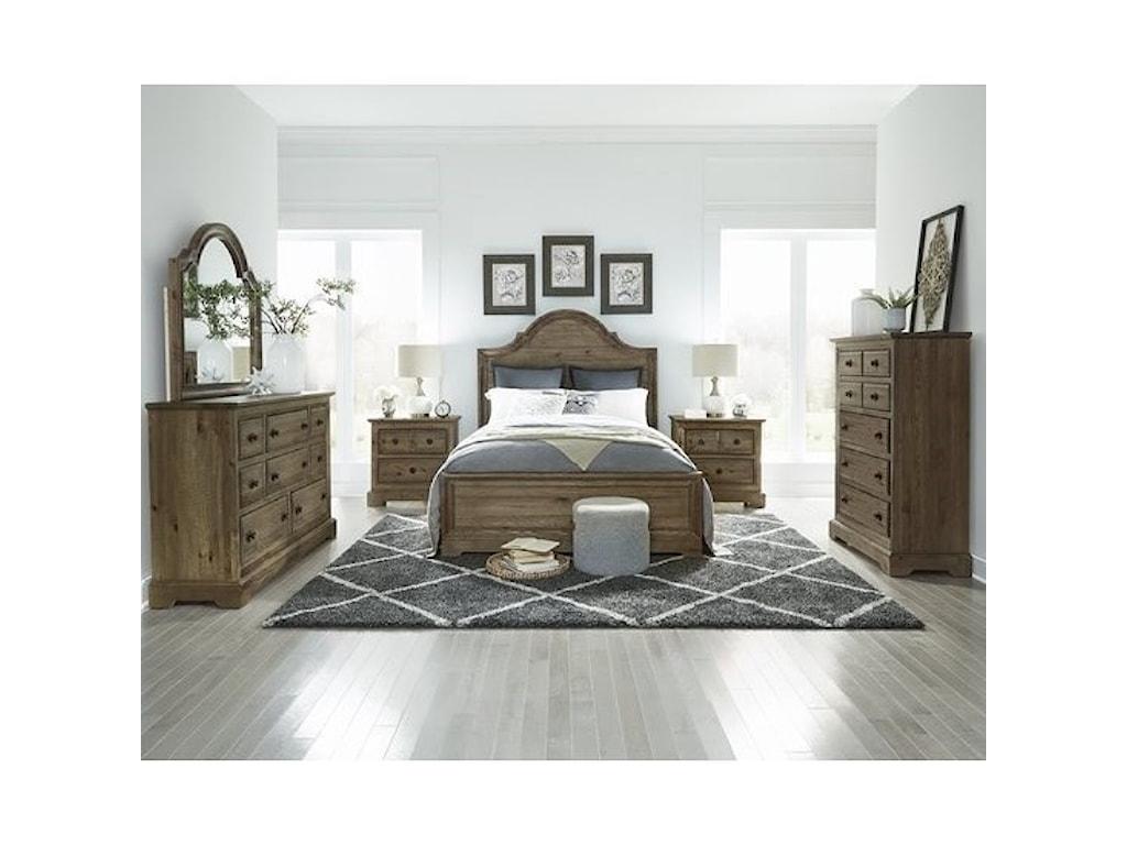 Progressive Furniture WildfireDresser & Mirror
