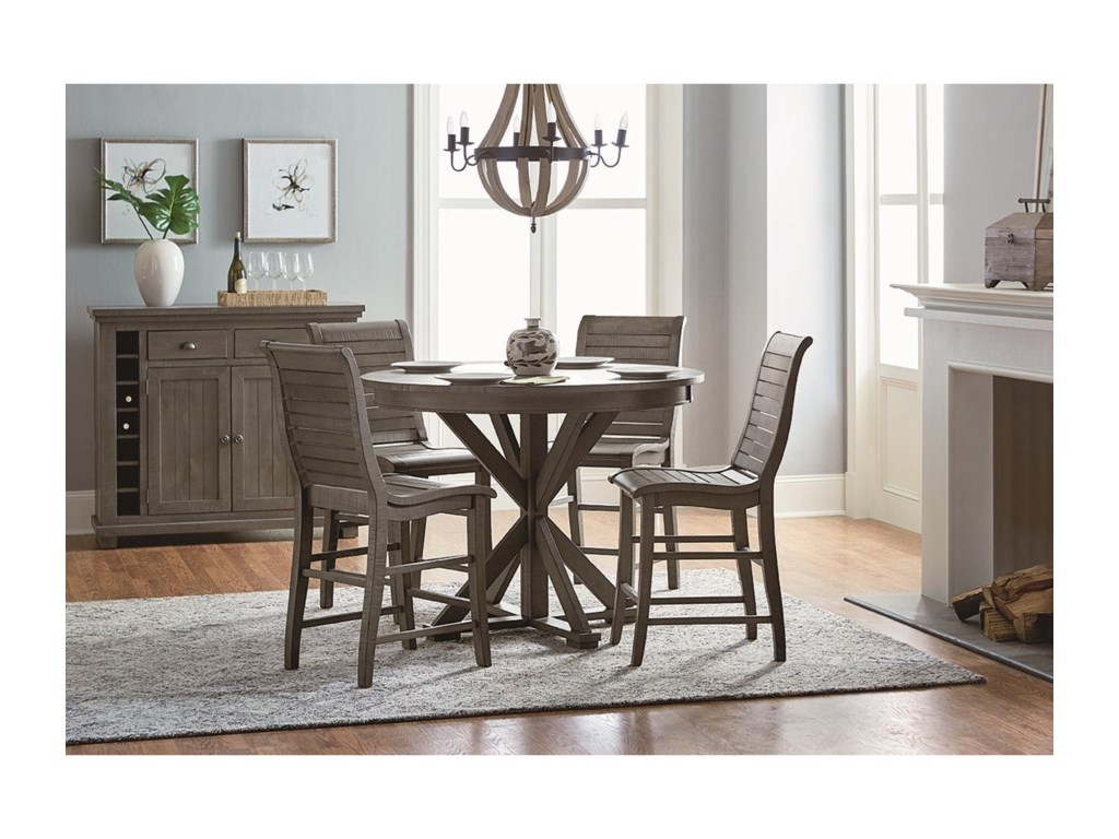 Progressive Furniture Willow DiningCasual Dining Room Group