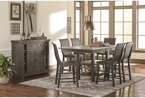 Progressive Furniture Willow Dining Casual Dining Room Group ...