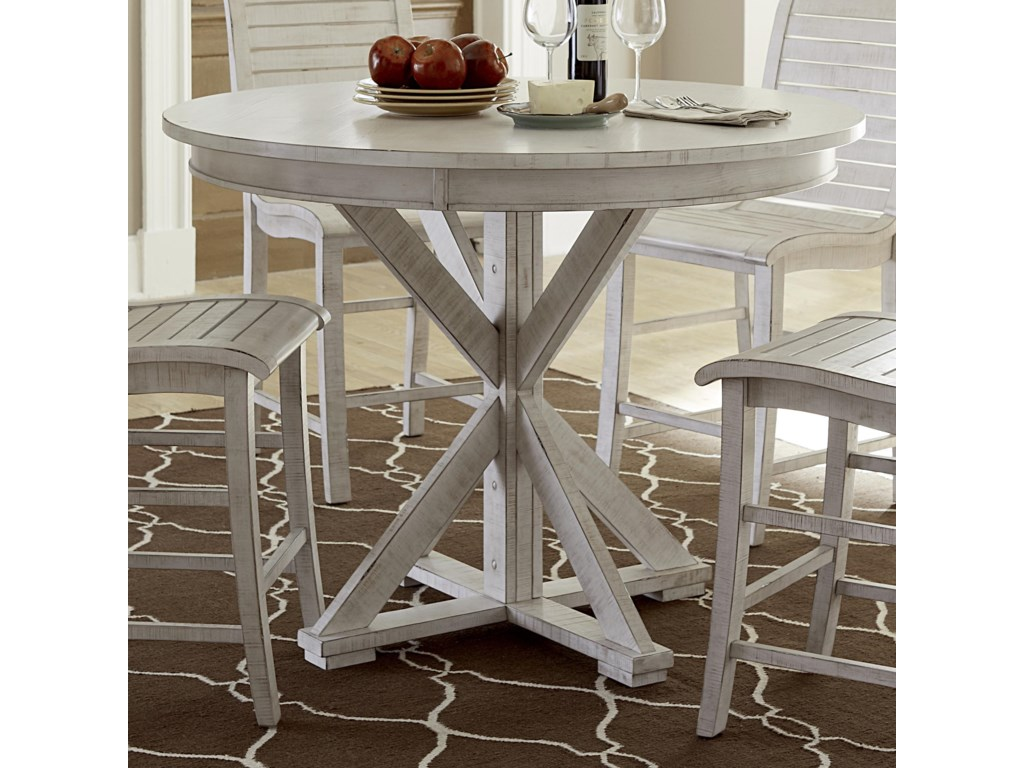 Willow Dining Round Counter Height Table