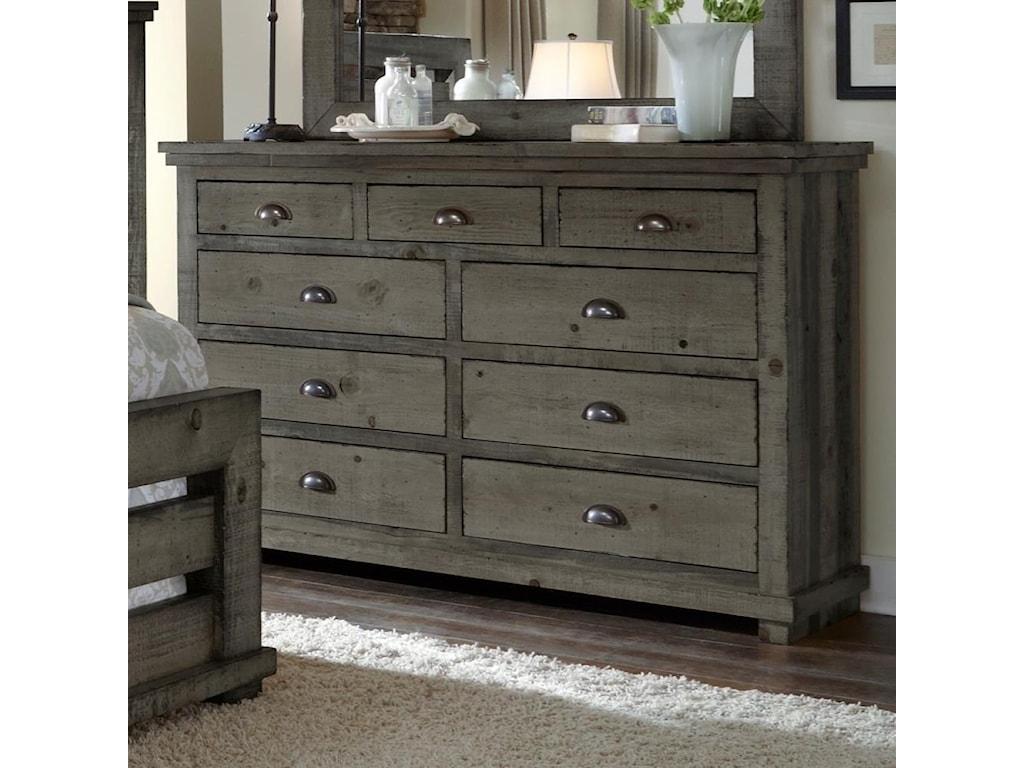 and dark wood rustic dresser maple grey white vintage