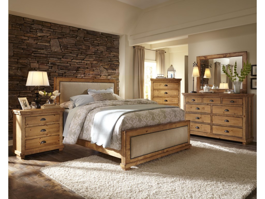 Progressive Furniture WillowDrawer Dresser & Mirror