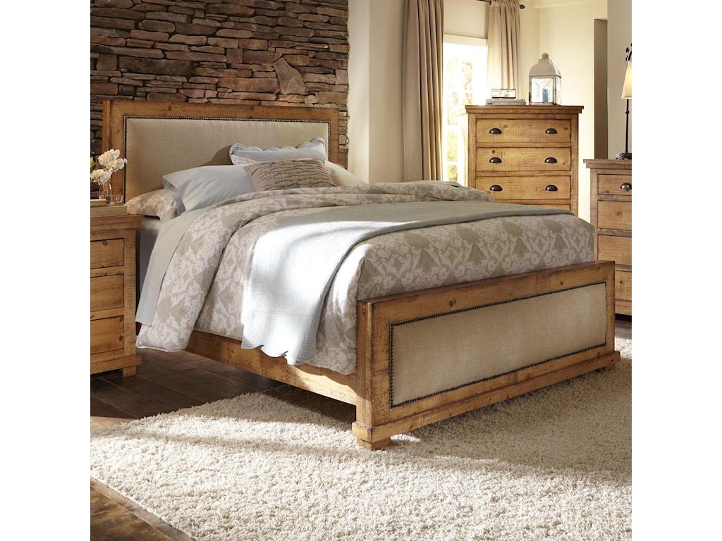 Progressive Furniture WillowQueen Upholstered Bed