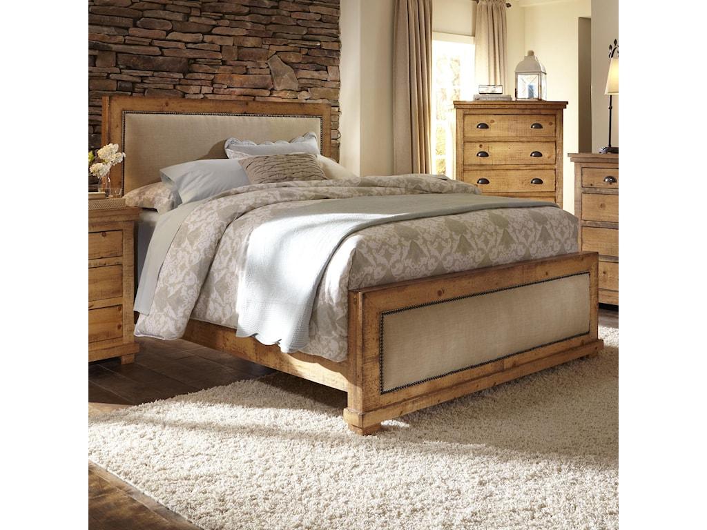 Progressive Furniture WillowCalifornia King Upholstered Bed