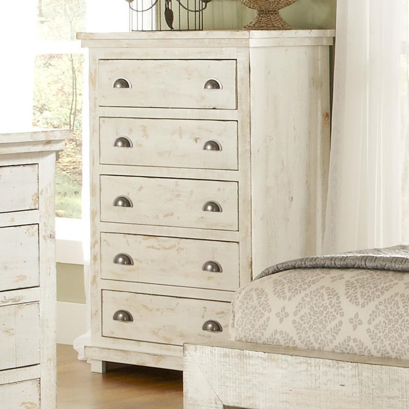 Delicieux Progressive Furniture Willow Distressed Pine Chest