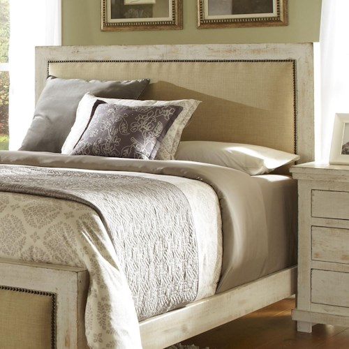 Progressive Furniture Willow Queen Upholstered Headboard