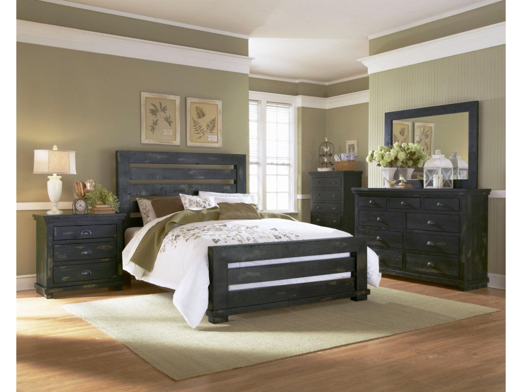 Progressive Furniture WillowQueen Bedroom Group