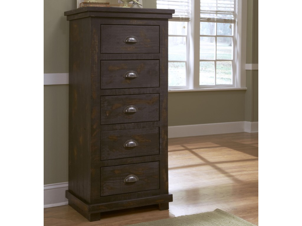signature furniture a by cart carlyle drawers tall design lingerie chest ashley