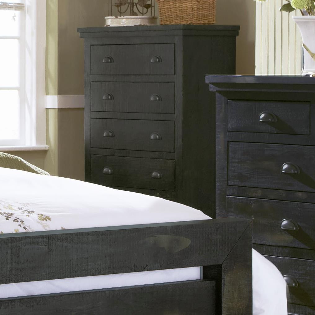 Progressive Furniture Willow Distressed Pine Chest