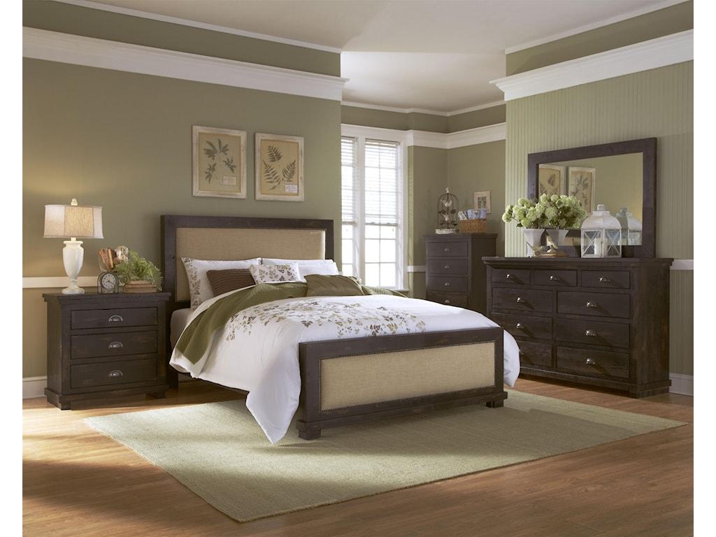 Progressive Furniture WillowDrawer Dresser & Mirror