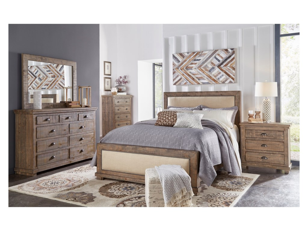 Progressive Furniture WillowCalifornia King Bedroom Group