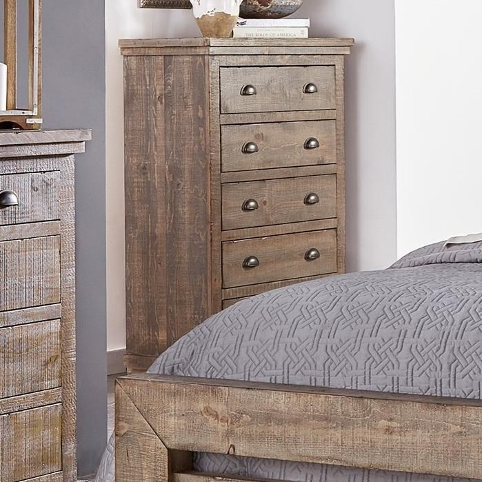 Willow Distressed Pine Chest By Progressive Furniture At Conlinu0027s Furniture