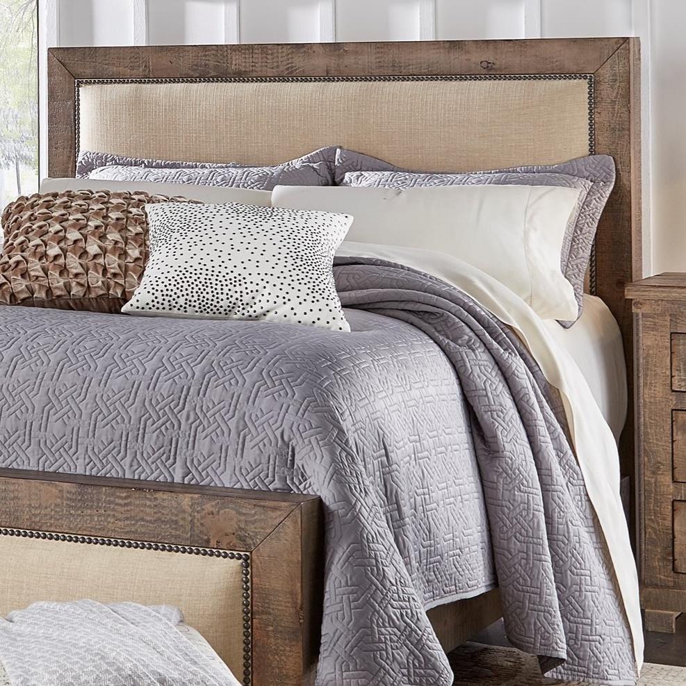 Progressive Furniture WillowQueen Upholstered Headboard