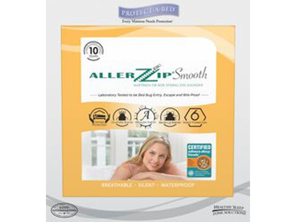 Protect-a-Bed AllerZip Mattress EncasementSplit Queen 9