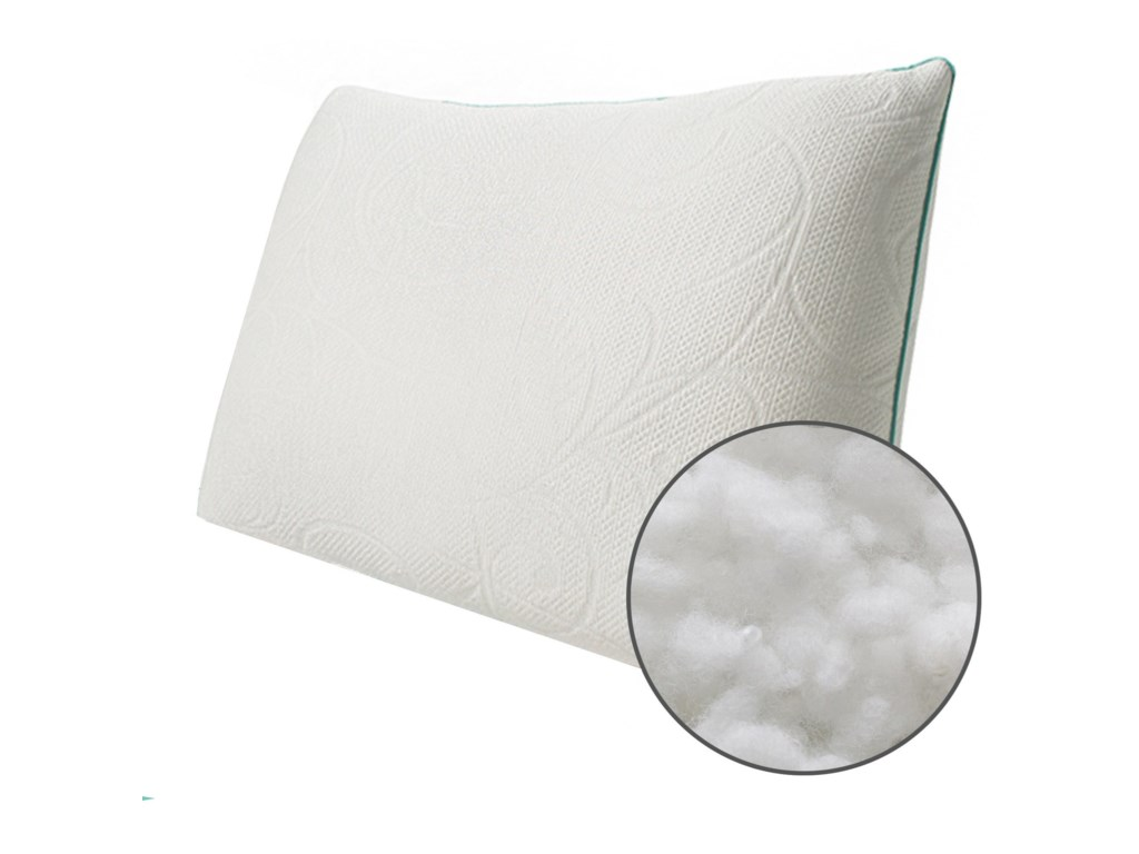 Protect-a-Bed Classic Crystal PillowQueen Med Crystal, Down Alternative Pillow