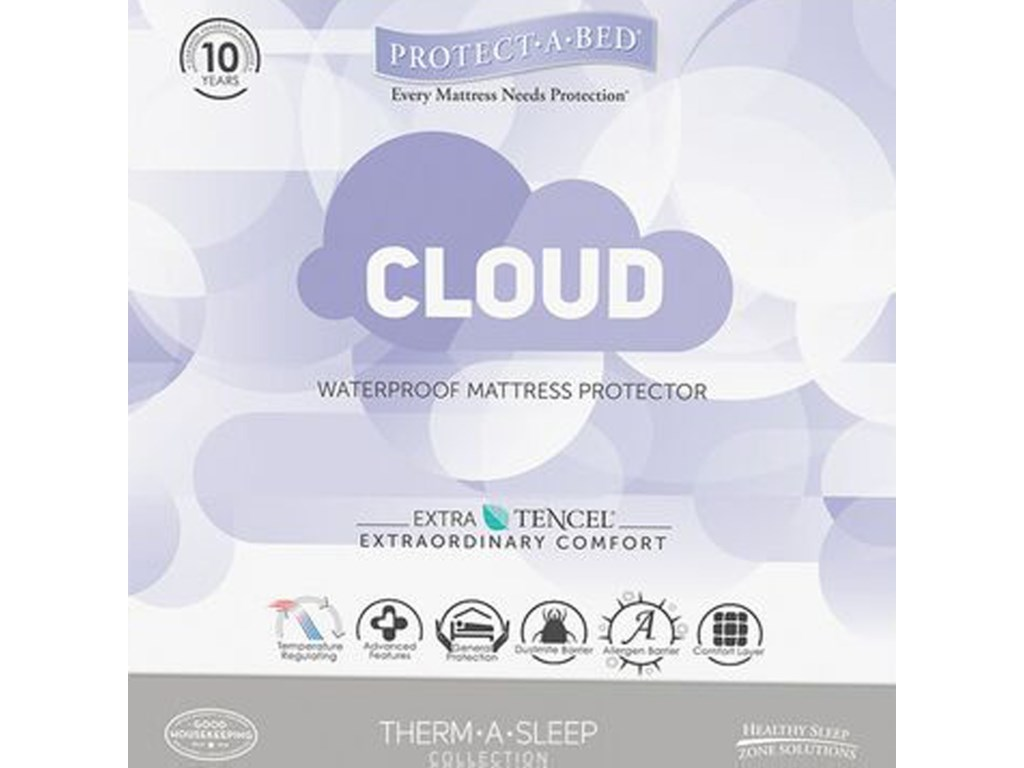 Protect-a-Bed Cloud Mattress ProtectorSplit Cal King Water Proof Matt Protector