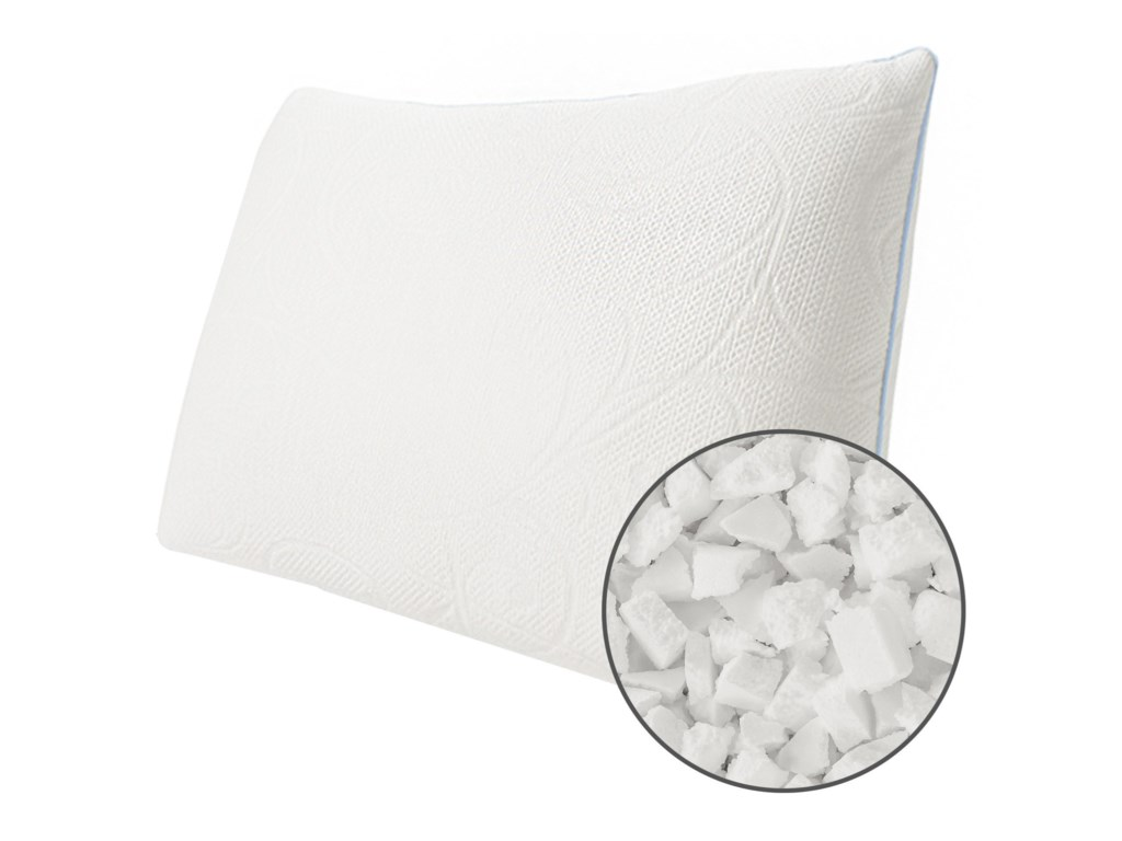 Protect-a-Bed Cluster Memory Foam Crystal PillowQueen Med Cluster Memory Foam Pillow