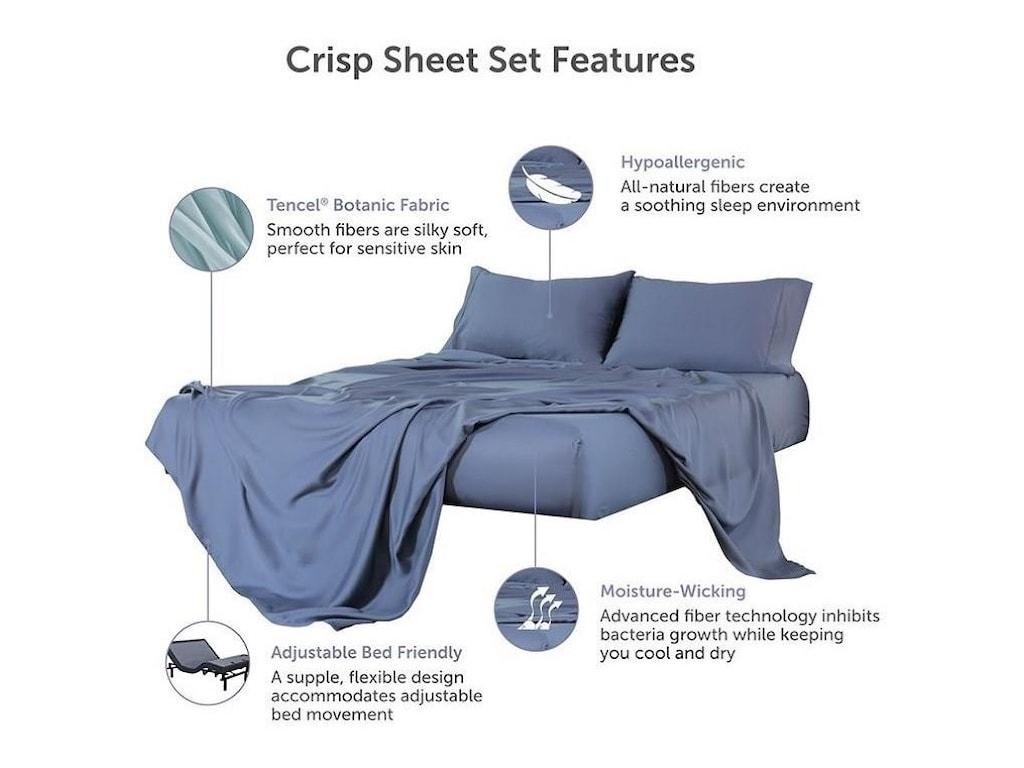 Protect-a-Bed CrispQueen Crisp Tencel Lyocell Sheets