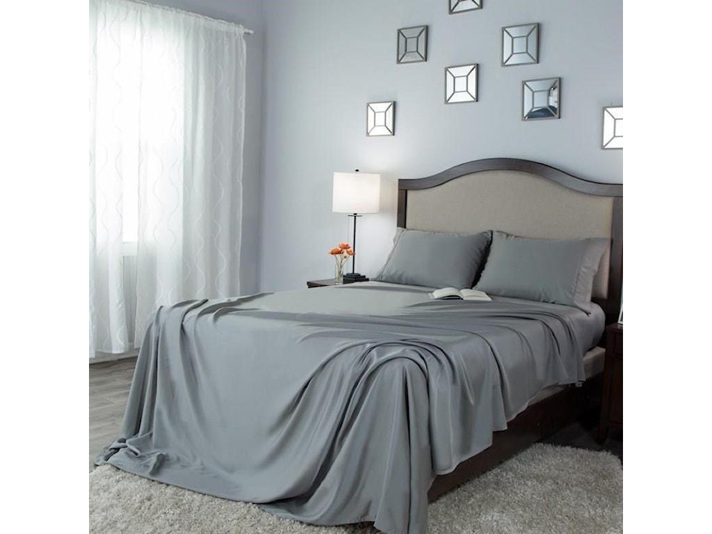 Protect-a-Bed CrispTwin Xl Crisp Tencel Lyocell Sheets
