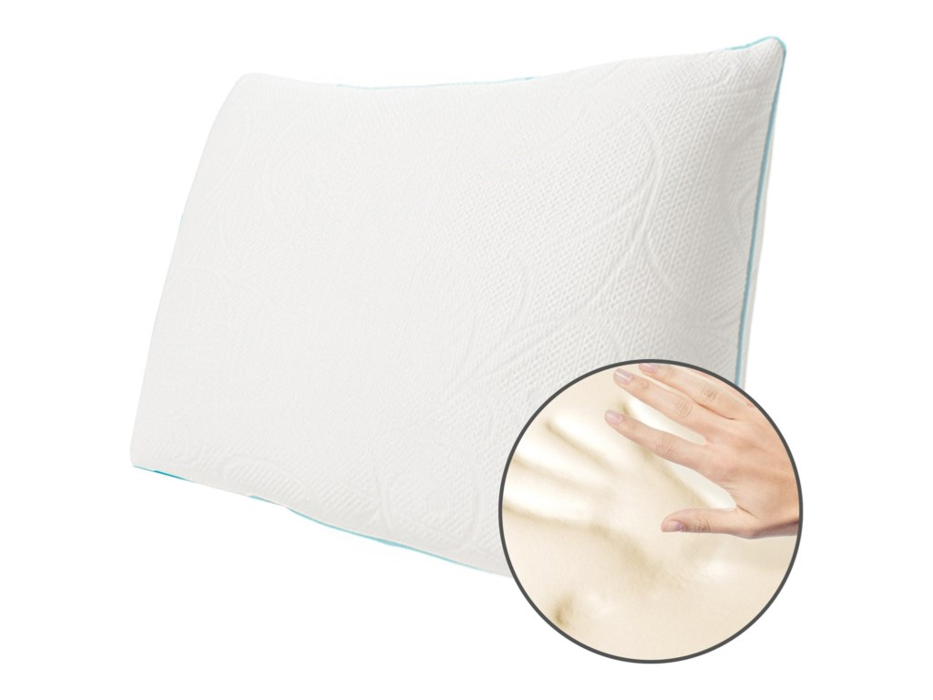 Protect-a-Bed Crystal Memory Foam PillowQueen Soft Memory Foam Crystal Pillow