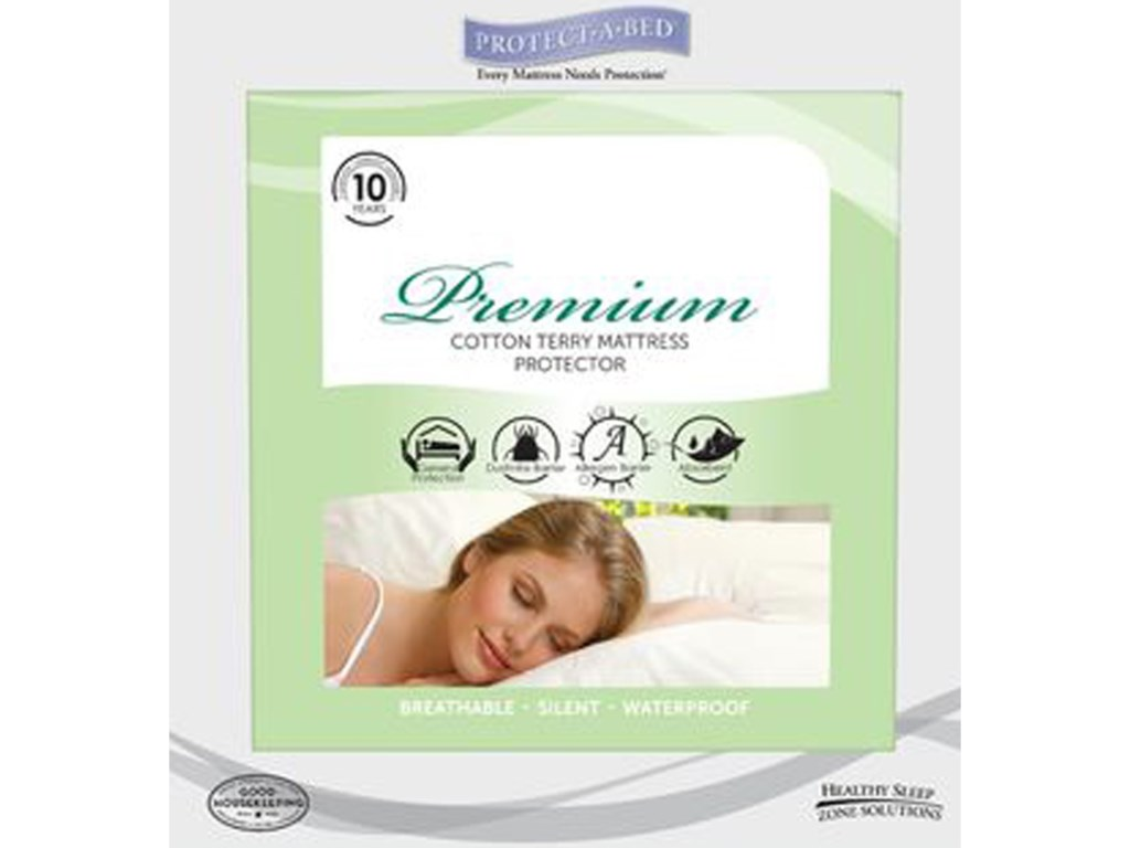 Protect-a-Bed Premium Mattress ProtectorTwin Premium Water Proof Mattress Pad