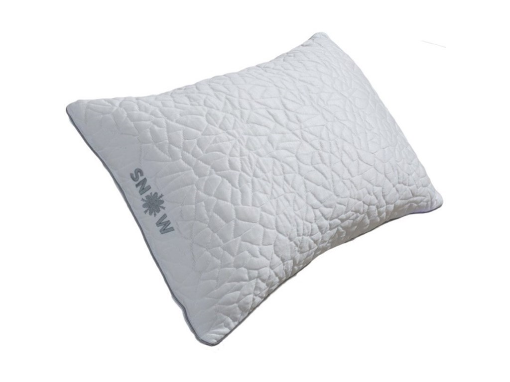 Protect-a-Bed Snow Firm Shredded Memory Foam PillowStandard Size Snow Cooling Pillow