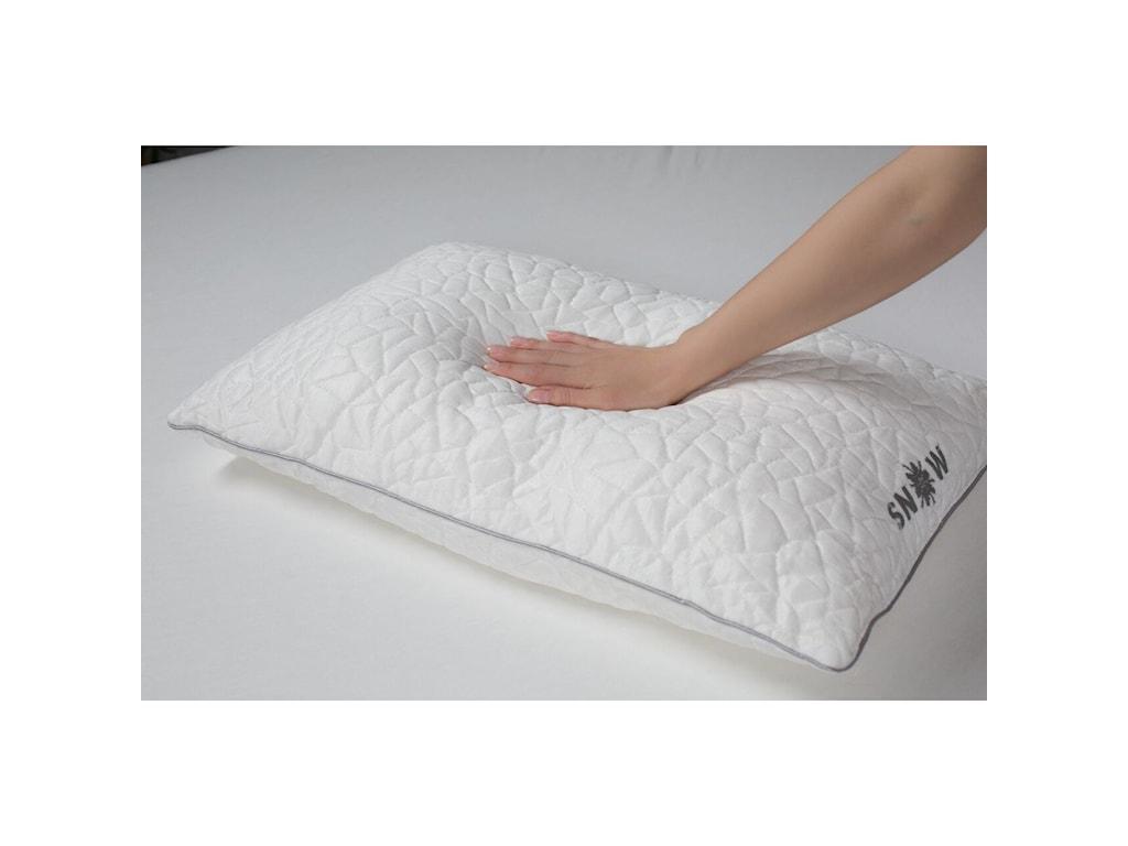 Protect-a-Bed Snow PillowsStandard Medium Firm Snow Pillow
