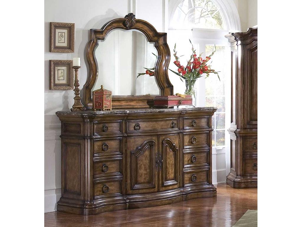 Pulaski Furniture San MateoDresser & Mirror Combo
