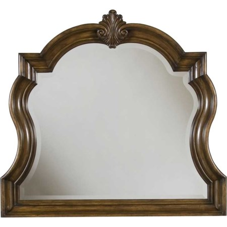 Carved Frame Dresser Mirror
