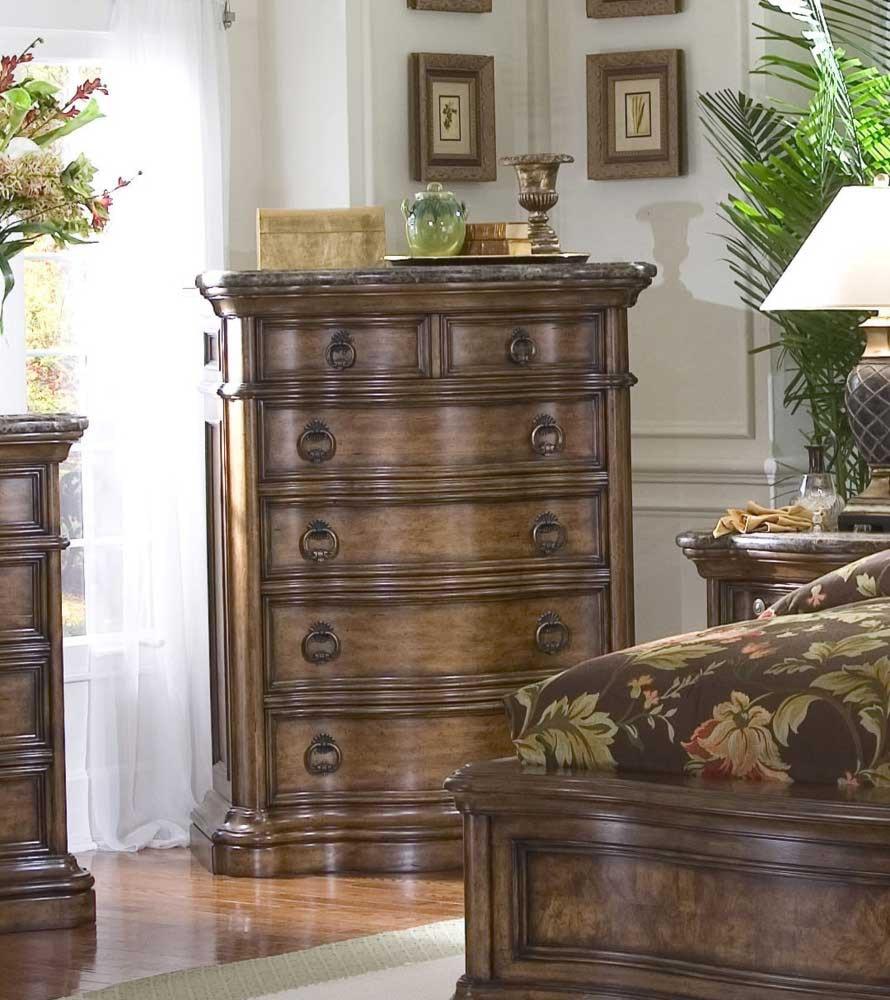 san mateo bedroom set pulaski furniture. pulaski furniture san mateo five drawer marble top chest. collection bedroom set