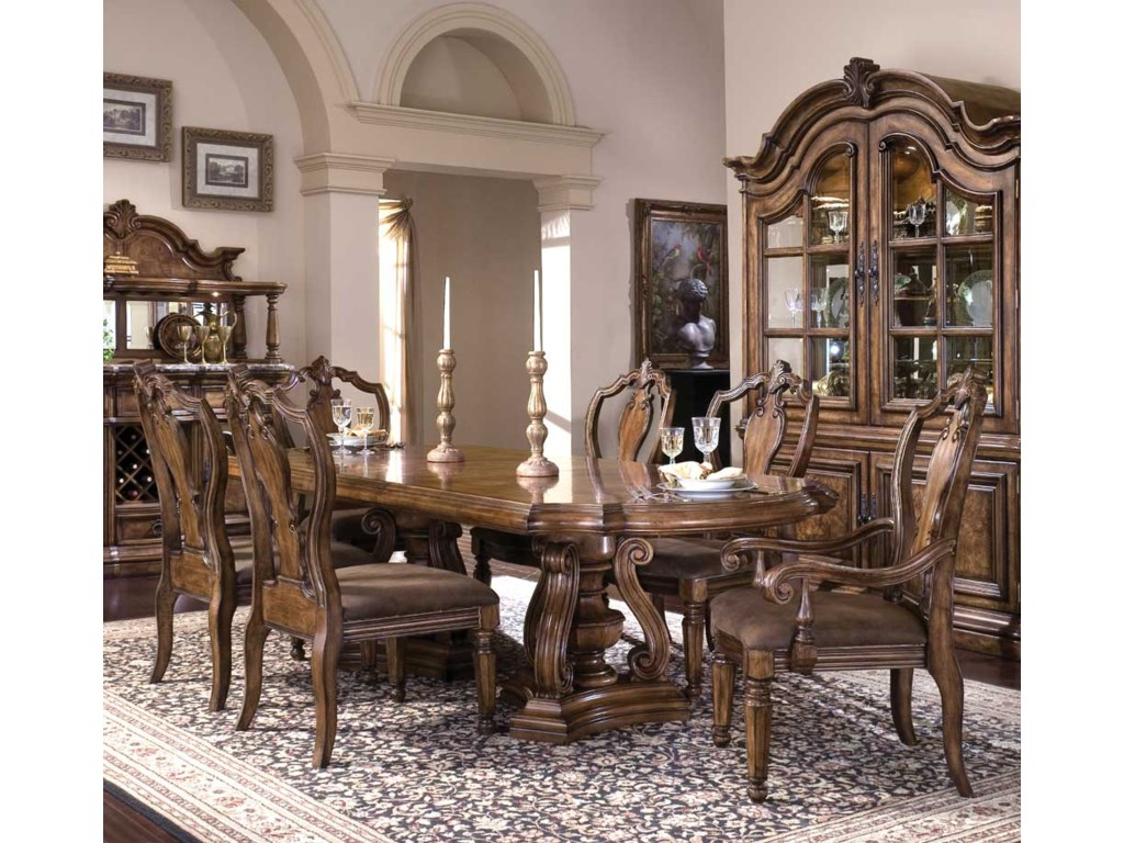 Pulaski Furniture San MateoDouble Pedestal Dining Table