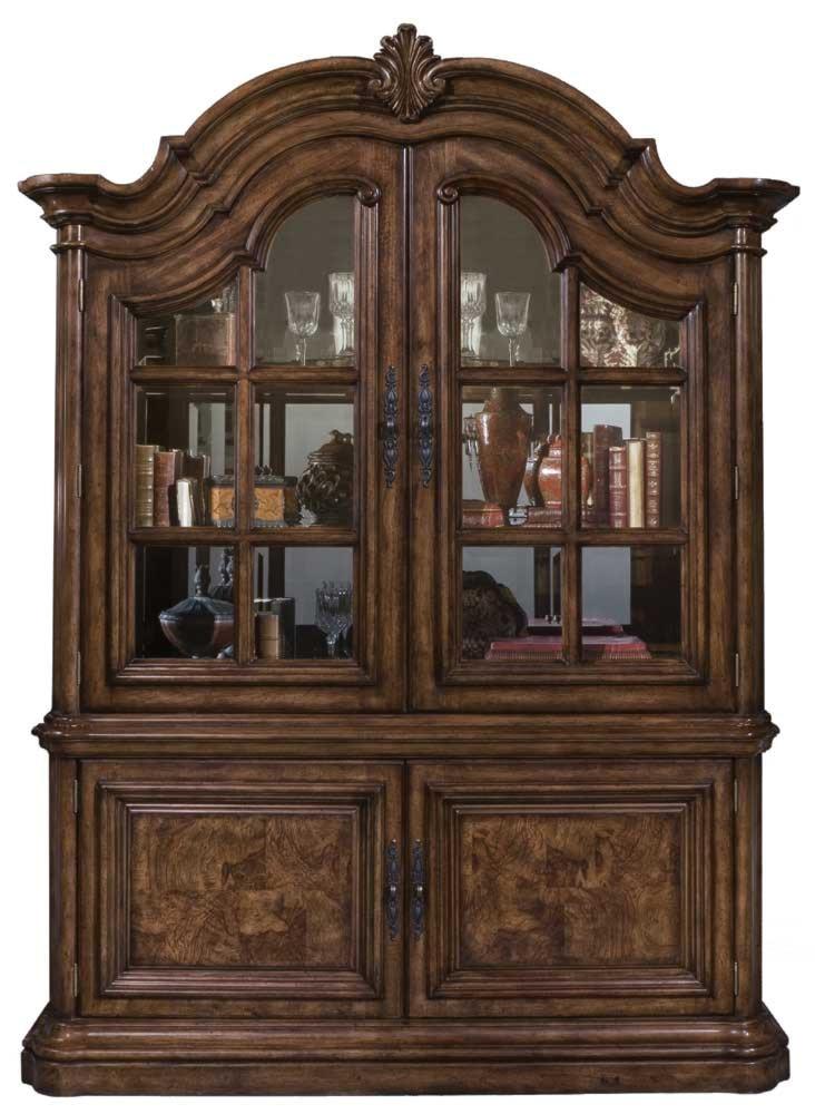 pulaski furniture san mateo china cabinet - wayside furniture