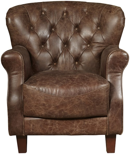 Pulaski Furniture Accent Chairs  Aluminum Wrapped Grace Chair