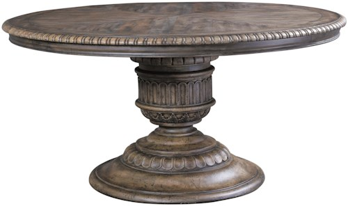 Pulaski Furniture Accentrics Home Daphne Round Pedestal Table