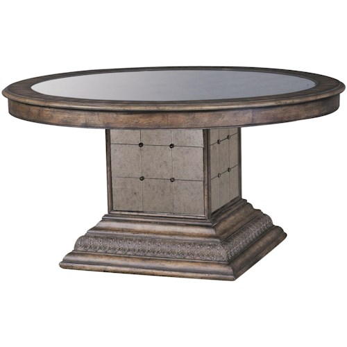 Pulaski Furniture Accentrics Home Aphrodite Round Pedestal Table